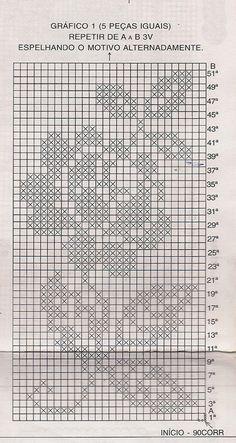Free Patterns Archives - Beautiful Crochet Patterns and Knitting Patterns Filet Crochet Charts, Crochet Borders, Crochet Diagram, Crochet Motif, Crochet Doilies, Blanket Crochet, Crochet Table Runner Pattern, Crochet Tablecloth, Thread Crochet
