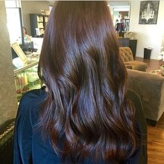 Warm velvet brunette. Color by @amaniashawn #hair #hairenvy #hairtalk #haircolor #brunette #newandnow #inspiration #maneinterest