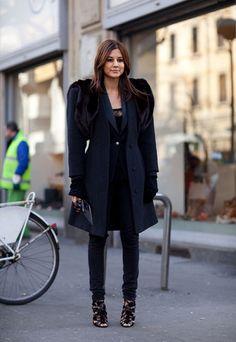 Christine Centenera @ Milan Fashion Week 2012