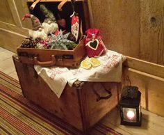 Suitcase, Christmas Decorations, Briefcase