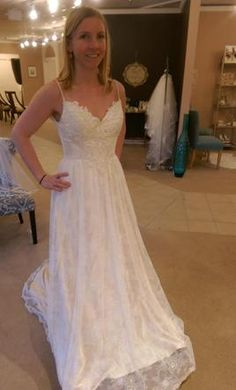 8eba67f41a6 Lillian West 6395  buy this dress for a fraction of the salon price on  PreOwnedWeddingDresses