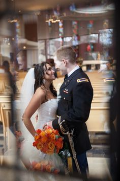 Army officer sword, military wedding. I had my husband's army officer sword engraved and gave it to him as a wedding gift. Purchased from Marlowe & White.