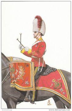 The Royal Scots dragoon Guards Drummer 1987