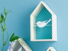 Idées de cadres : des maisonnettes à oiseaux • Hellocoton.fr