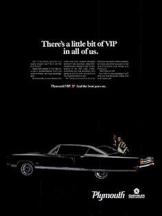 1968 Plymouth Fury advertisement
