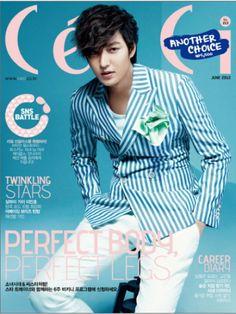 """Lee Min Ho - """"CÉCI"""" Magazine Junio 2012"""