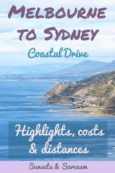 Taking a road trip from Melbourne to Sydney or vice versa? Read this useful coastal drive itinerary to help you plan your journey through Victoria and New South Wales. Discover the best things to see, including Jervis Bay, Kiama, Wollongong and the Grand Pacific Drive, as well as costs, distances and accommodation. #Melbourne #Sydney #Australia #SunsetsandSarcasm