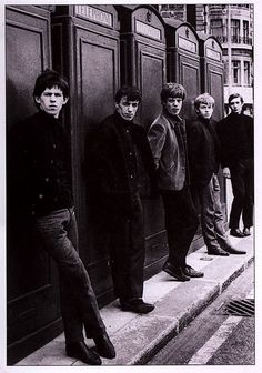 The Rolling Stones first photoshoot.    Love it! I'm an early era Stones girl all the way!