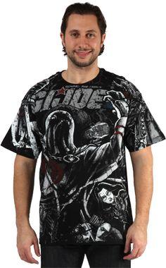 All Over Print GI Joe Cobra Shirt