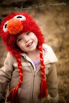 Fuzzy earflap Hat crochet pattern fashioned by FromHandToHeart, $3.00