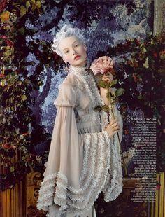 Mona Johannesson | Vogue Spain October 2006