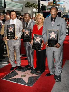 Bobby Rogers and Smokey Robinson Photo - The Miracles Honored At The Hollywood Walk Of Fame