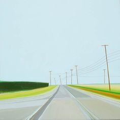 Open Roads – Les peintures de Grant Haffner (image)