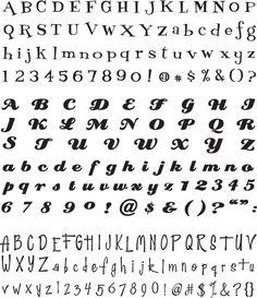 Slice Sock Hop Fonts