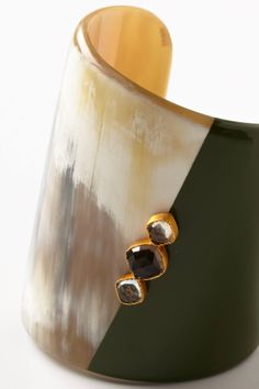 Colorblocked Horn Cuff - anthropologie.com