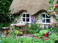 Thatched Cottage garden.