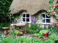 Thatched Cottage garden.