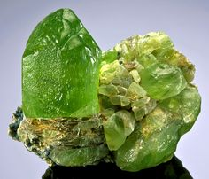 Peridot from Pakistan by Exceptional Minerals