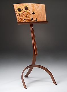 music stand ...I'd never want to leave my sheet music on it!