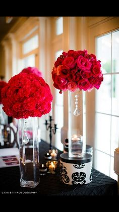 I like these for center pieces