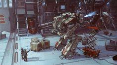 robots futuristic mecha artwork 1920x1080 wallpaper Art HD Wallpaper