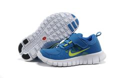 f02f6d4939397b Nike Free Runs 3 5.0 Kids Soar Sail Reflective Yellow Nike Free Run 3