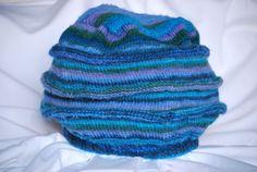 Blue Varigated Winter Hat oooooooo
