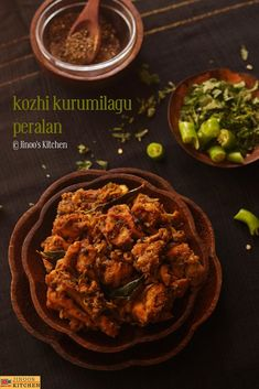 Chicken Recipes Kerala Style, South Indian Chicken Recipes, Recipes With Chicken And Peppers, Chicken Stuffed Peppers, Fennel Seeds, Curry Leaves, Gluten Free Chicken, Garam Masala