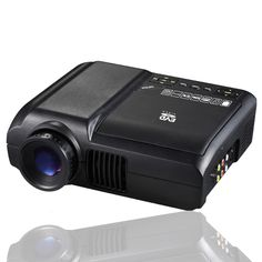 Home Theater Portable LED projector with built in DVD player, 60