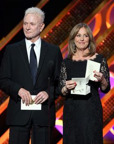 "And while this reunion was great, the next one better be IN Port Charles on General Hospital! | Luke And Laura From ""General Hospital"" Reunited At The Daytime Emmys And It Was Perfect"