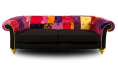 Patchwork Chesterfield Sofa patchwork4home, patchwork sofa ideas, patchwork furniture ideas