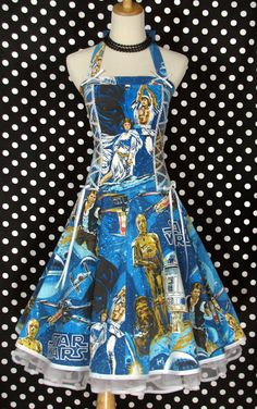 If you're a sewer, find some old Star Wars sheets and make some bridesmaids dresses!