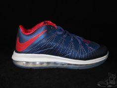 Vtg OG 2013 Nike Lebron X 10 s sz 10 Low USA Quickstrike South Beach Cork Denim #Nike #AthleticSneakers #tcpkickz