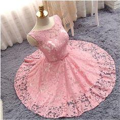 pink homecoming dress,short prom dress,elegant party dress,lace homecoming dress,cute dress,summer outifit