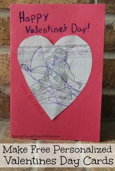 free personalized Valentine's day cards