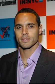 Daniel Sunjata (He disappointed me as Ranger but he's still...) YUMMM (I'm a sucker for dimples!)