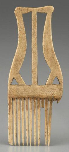 Crane Comb, Seneca, 1600-1700
