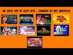 Slot wins youtube 2015 strip live poker