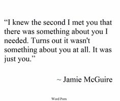 It was just you..!