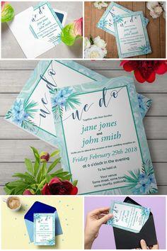 Mint Marble Reception Invitation Template  #diywedding #bohowedding #mintwedding #printableinvitations #prandski