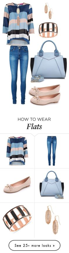 """Let the sun shine"" by meluhneeee on Polyvore featuring Mode, Boohoo, Kendra Scott, Vero Moda, Segolene Paris, GUESS und Kate Spade"