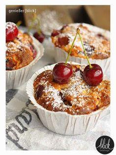 Kirsch-Nuss-Muffins