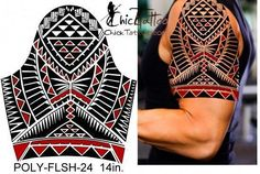 ChickTattoo.. Polynesian Flash Tattoo Designs #polynesiantattoosdesigns #Maoritattoos Viking Tattoo Sleeve, Maori Tattoo Arm, Tattos Maori, Polynesian Tribal Tattoos, Maori Tattoo Designs, Viking Tattoos, Sleeve Tattoos, Fijian Tattoo, Tongan Tattoo