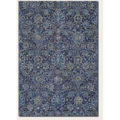 Found it at Wayfair - Easton Winslet Navy/Sapphire Area Rug