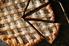 Linzer Torte Slices