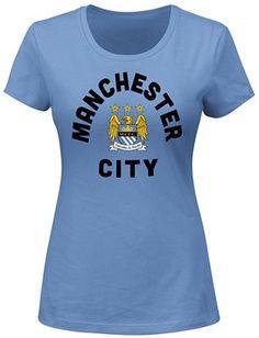 Manchester City Women's Official Logo Tee