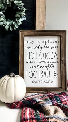 Diy Crafts To Do, Fall Crafts, Fall Craft Fairs, Fall Projects, Vinyl Projects, School Projects, Fall Home Decor, Autumn Home, Fall Signs