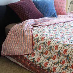 eclectic throw Beige paisley boho kantha throw quilt boho bedding boho kantha quilt kantha bedding bohemian bedding boho kantha throw