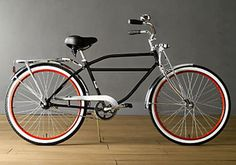 """The Worksman Cruiser Bicycle, the """"Hum-Vee"""" of bicycles.  Built in NY, you can design your own bike.  Ideal for hefty riders, they can be upgraded to accommodate riders up to 500lbs!  And they start at $329.00!"""