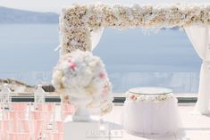 #weddingsinsantorini #heliotoposhotel #imerovigli #flowerbouquets #weddingbouquet #rosesarered #rosesareblue #roses #flowerdecoration #his #hers #couple #uncoditionallove #weddingplanner #blossomout Magic Decorations, Flower Decorations, Wedding Decorations, Table Decorations, Santorini Wedding, People Fall In Love, First Dance, All White, Feng Shui